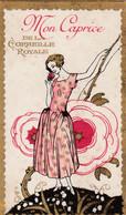 Carte Parfumée Mon Caprice De Corbeille Royale - Vintage (until 1960)