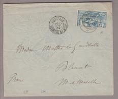 CH UPU 1900-07-22 Engelberg Brief Nach Blamont Mit 25Rp. UPU Zu#79A - Covers & Documents