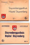 2 Mapjes  Met Elk 10 Kaarten Stuyvenberggasthuis  Antwerpen - Antwerpen