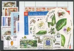 Wallis Et Futuna (2004) N 614 A 627 Et BF 14 A 18 (E49) - Unused Stamps