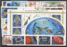 Wallis Et Futuna (2008) N 691 A 711 Et BF 23 A 24 - Unused Stamps