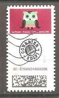 FRANCE 2020 Y T Timbre N ° 5 Courrier Suivi Oblitéré - Used Stamps