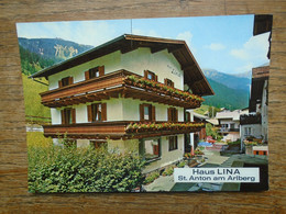Autriche , St. Anton Am Arlberg , Haus Lina - St. Anton Am Arlberg