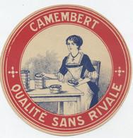 Etiquette Camembert, Inconnu - Cheese
