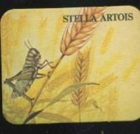 Autres Collections - Sous-bock - Stella Artois - Grillon - Beer Mats