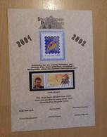 A.Buzin A5 Kaart SPAB 2001 - 2002 - 1985-.. Oiseaux (Buzin)