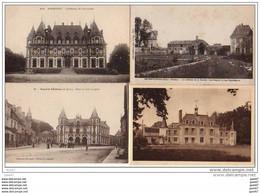 4  CPA    (   Nos Jolis CHATEAUX De FRANCE )         Ref  B. 685 - Castles
