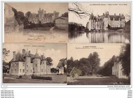 4  CPA    (   Nos Jolis CHATEAUX De FRANCE )         Ref  B. 684 - Castles