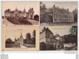 4  CPA    (   Nos Jolis CHATEAUX De FRANCE )         Ref  B. 683 - Castles