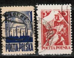 PL 1945 MI 391-92 USED - Used Stamps
