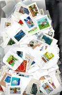 V7  Ensemble De 500 Timbres  De France Sur Fragment En Euros. PORT 2.56 EUROS OFFERT A Saisir !!! - Collections (with Albums)