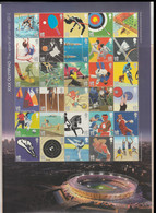 Great Britain 2012 Olympic Games In London - Smiler Large Sheet W/30 1st Stamp MNH/** (H59N) - Zomer 2012: Londen