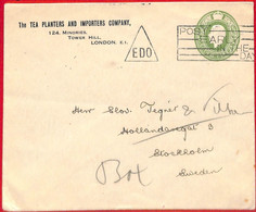 Aa3141 - GB - POSTAL HISTORY - Private Advertising STATIONERY COVER Coffee Tea - Heilpflanzen