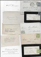 FRANCE  Lot De 42 Cartes De Visite Dont 26 Avec L'enveloppe - Visiting Cards