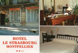 ~+ Montpellier - Hôtel Le Strasbourg - Multivues , Publicité - Montpellier