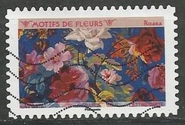 "FRANCE  ISSU DU CARNET ""MOTIFS DE FLEURS"" OBLITERE - Autoadesivi"