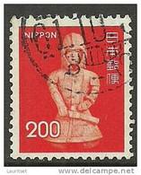 JAPAN Nippon 1976 Statue Skulptur Terrakotasoldat Terrakota Soldier Michel 1277 O - Archéologie