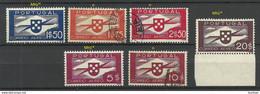PORTUGAL 1936 Michel 591 - 596 */o - Unused Stamps