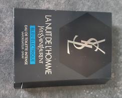 Echantillon  Tigette - Perfume Sample - La Nuit De L'Homme Bleu électrique De Saint Laurent EDT Intense - Muestras De Perfumes (testers)