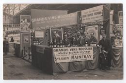 SOUZAY (49) PRES SAUMUR : STAND VINS MOUSSEUX DE SYLVAIN MANFRAY (ANJOU VOUVRAY SAUMUR)- FOIRE DE LILLE 1928 -zz R/V Zz - Autres Communes