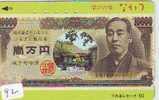 Télécarte Japon * BILLET De Banque  (92) Banknote Japan Phonecard * GELDSCHEIN * Coin * BANKBILJET - Francobolli & Monete