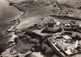 20 Corse St Saint Florent Vue Aerienne Sur La Citadelle CPSM GF Cachet St Florent 1956 - Autres Communes