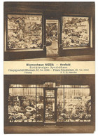 4150  KREFELD, BLUMENHAUS NIZZA RHEINSTRASSE 87  1933 - Krefeld