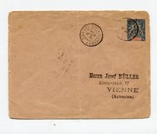 !!! ENTIER POSTAL DE 1909 POUR L'AUTRICHE, CACHET BANGUI - CONGO FRANCAIS - Lettres & Documents