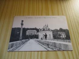 CPA Lac Des Settons (58).La Digue Et Sa Croix De Mission. - Montsauche Les Settons