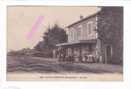 CPA :  14 X 9  -  SAINT-CERGUES  (Hte-Savoie)  -  La  Gare - Saint-Cergues