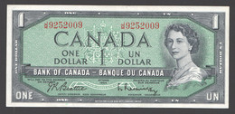 1954  $1 Signed Beattie / Raminsky  UNC - Kanada