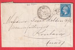 N°22 GC 3264 SAINS DU NORD CAD TYPE 22 POUR ROUBAIX INDICE 10 - 1849-1876: Klassik