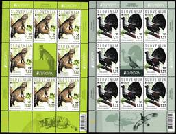 Europa Cept - 2021 - Slovenia - 2.Sheetlet Of 8 Sets - (Wildlife) ** MNH - 2020