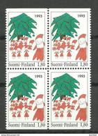 FINLAND FINNLAND 1993 Michel 1233 Do + Du Christmas MNH - Nuevos