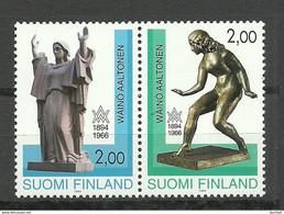 FINNLAND FINLAND 1994 Michel 1242 - 1243 MNH W. Aaltonen - Nuevos