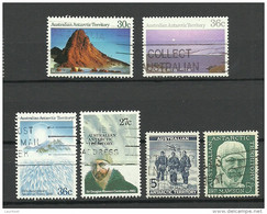 Australian Antarctic Territory 6 Stamps O - Usados