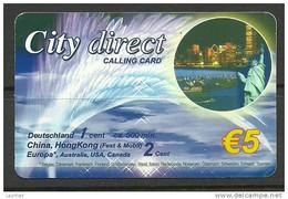 Germany Deutschland Telefonkarte Phone Card  City Direct - Unclassified