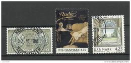DENMARK Dänemark  3 Gestempelte Marken - Non Classés