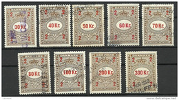 DENMARK Dänemark 1946 Fakturastempel Tax Steuermarken O - Steuermarken