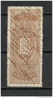 DENMARK Dänemark O 1870 Tax Steuermarke 8 Skilling - Steuermarken