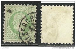 Österreich Austria 1867 Keiser  3 Kr Grün O - Usados