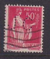 Perforé/perfin/lochung France No 283 JC J. Couvreur - Gezähnt (Perforiert/Gezähnt)
