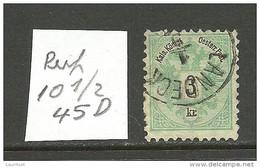 ÖSTERREICH Austria 1883 Michel 45 D O - Used Stamps