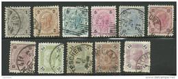ÖSTERREICH Austria 1890 - 1905 Lot Keiser Franz Joseph O - Used Stamps
