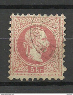 Österreich Austria 1867 Michel 37 O - Used Stamps