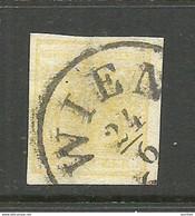 AUSTRIA Österreich 1850 Michel 1 O Wien Nice Cancel - Used Stamps