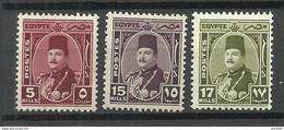 ÄGYPTEN Egypt 1944/46 Michel 272 & 274 - 274 * King Faruk - Nuovi
