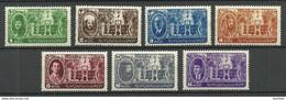 ÄGYPTEN Egypt 1946 Michel 294 - 300 MNH - Nuovi