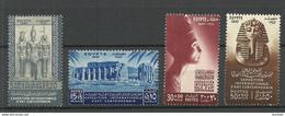 ÄGYPTEN Egypt 1947 Michel 301 - 304 MNH Kunstausstellung In Kairo Art Expo - Nuovi