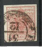 Austria Österreich 1850 Michel 3 O - Used Stamps